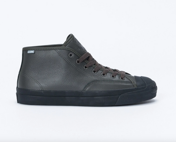 Converse Jake Johnson JP Pro Mid Shoe in Beluga Black and Black