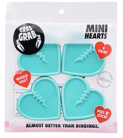 2020 Crab Grab Mini Hearts in Aqua