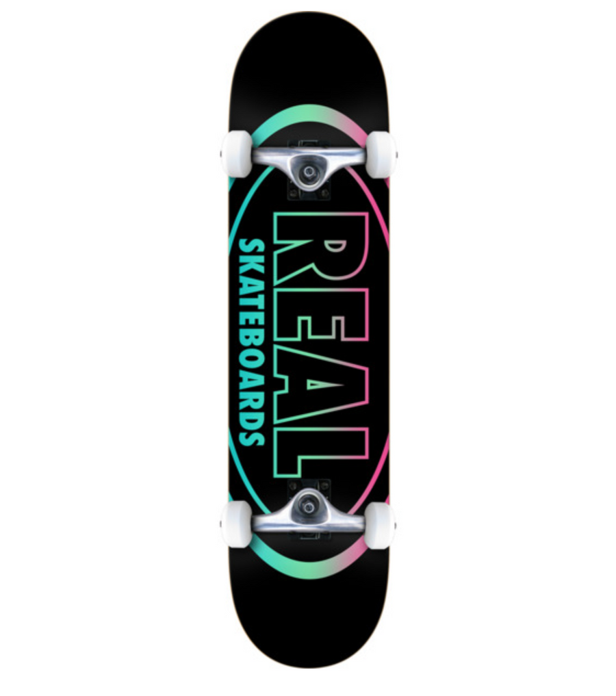Real Oval Gleam Complete Skateboard in 7.75''
