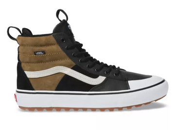 2020 Vans SK8 Hi MTE 2.0 DX Shoe in Dirt Brown and True White