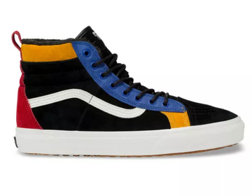 2020 Vans SK8 Hi MTE DX Shoe in Black and Surf the Web