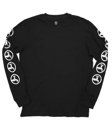 Drink Water Circle Tap Long Sleeve Shirt