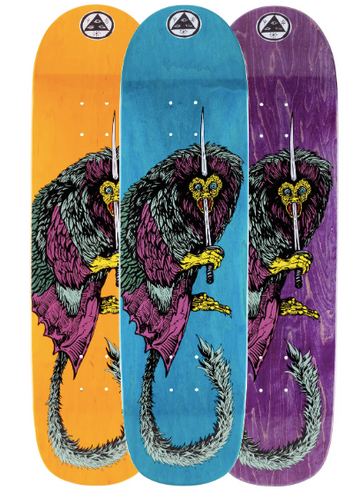 Welcome Tamarin on Son of Planchette Skate Deck in 8.38