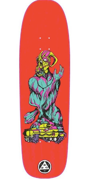 Welcome Warren Peace on Golem Skate Deck in 9.25