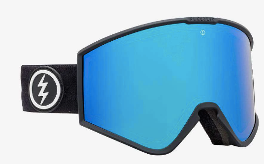 2020 Electric Kleveland with Matte Black Frame and Brose Blue Chrome Lens