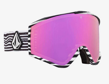 2020 Electric Kleveland Snow Goggle with a Volcom Frame and Brose Pink Chrome Lens