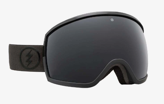 2020 Electric EGG Snow Goggle with a Dark Side Frame and Jet Black Lens