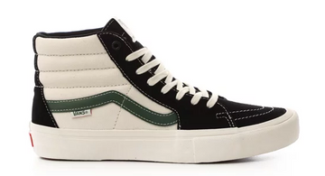 Vans Sk8 Hi Pro Skate Shoe in Black and Alpine