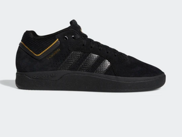 Adidas Tyshawn Shoe in Black on Black