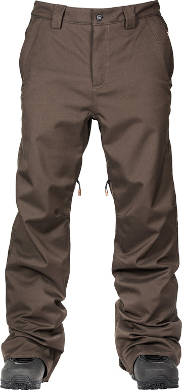 2021 L1 Slim Chino Snow Pant in Espresso