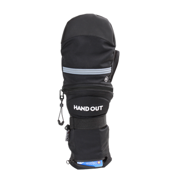 2021 Hand Out Sport Mittens in Black