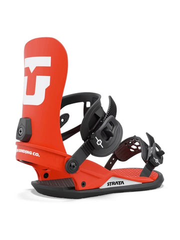 2022 Union Strata Mens Snowboard Binding in Red