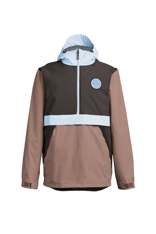 2021 Airblaster Trenchover Jacket in Chocolate