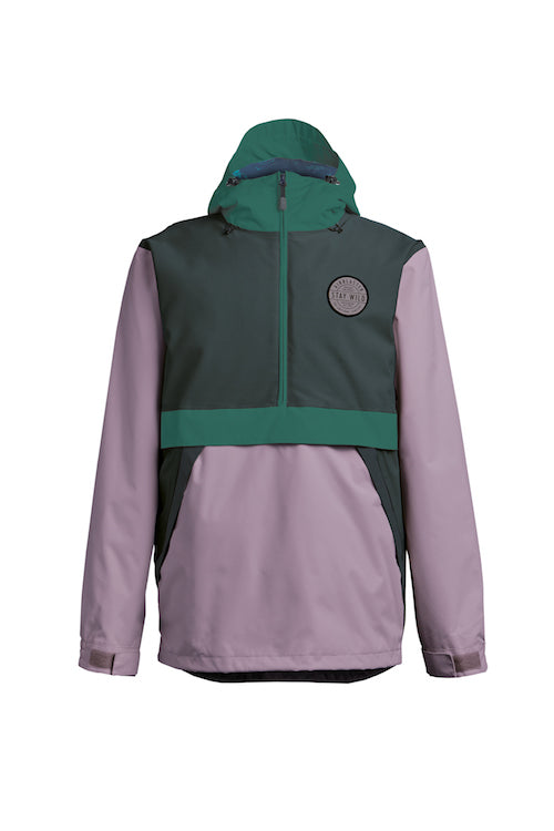 2021 Airblaster Trenchover Jacket in Spruce Lavender