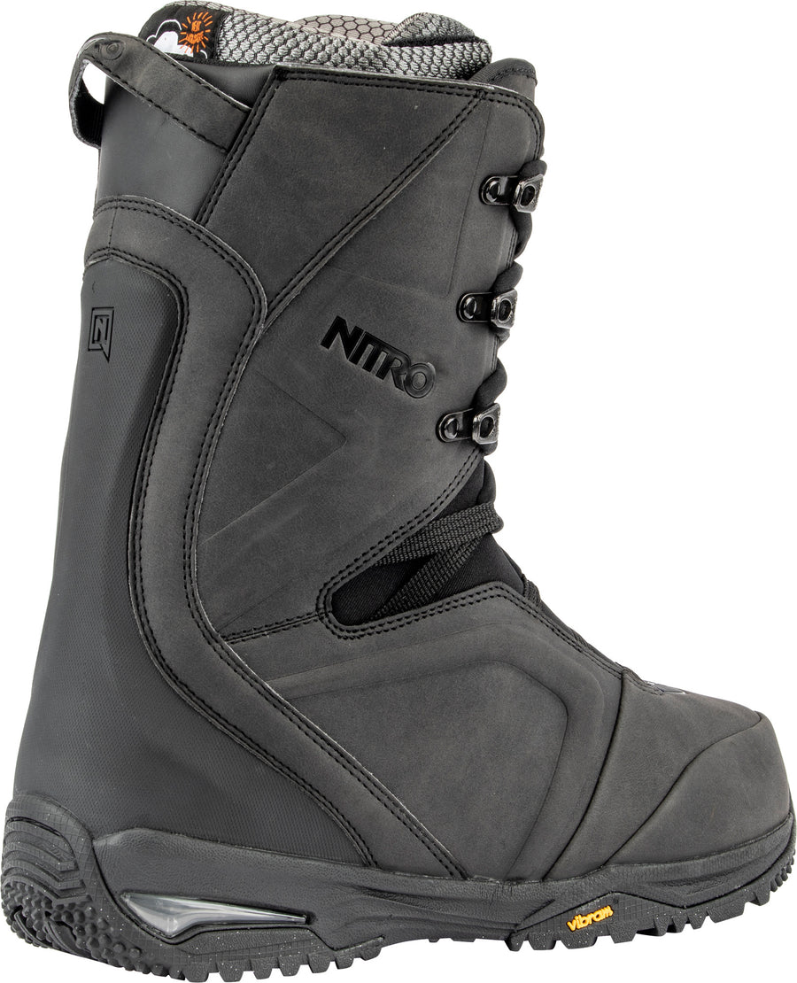 2020 Nitro Team Standard Lace Snowboard Boot in Black