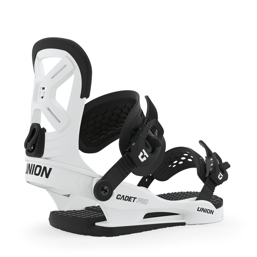 2020 Union Cadet Pro Snowboard Binding in White