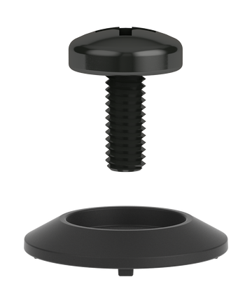 2021 Union Standard Adjuster Screw (2 toe, 2 ankle) in Black