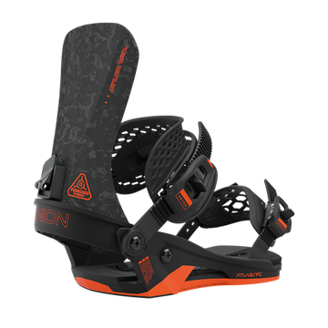 2021 Union Atlas FC Mens Snowboard Binding in Black