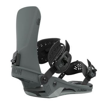 2021 Union Atlas Mens Snowboard Binding in Titanium