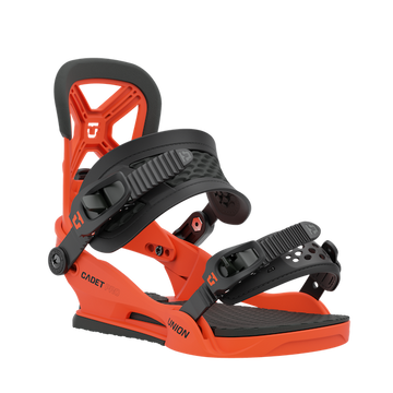2021 Union Cadet Pro Kids Snowboard Binding in Union Orange