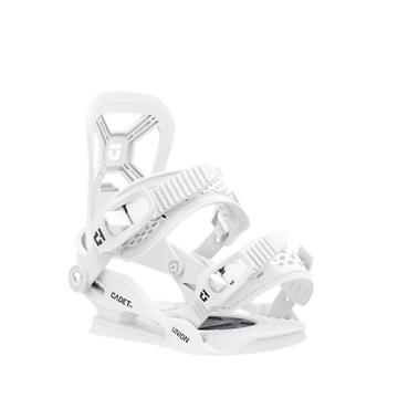 2021 Union Cadet XS Kids Snowboard Binding in White