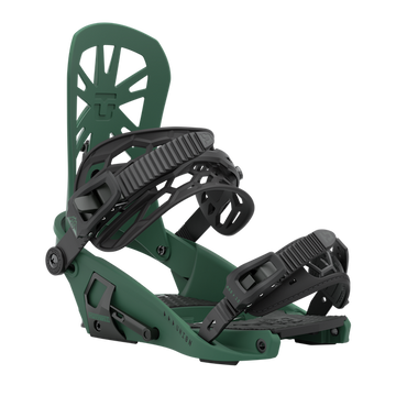 2021 Union Expedition Mens Split Snowboard Binding in Forest Green