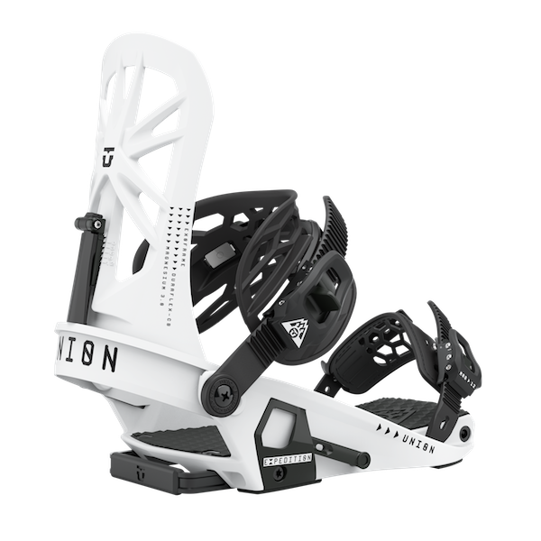 2021 Union Expedition Mens Split Snowboard Binding in White