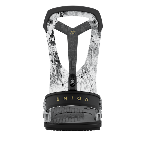 2021 Union Falcor Mens Snowboard Binding in Arctic White