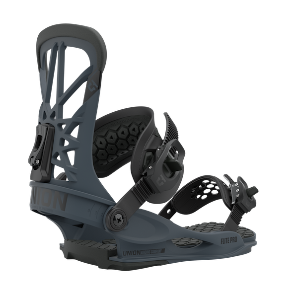 2021 Union Flite Pro Mens Snowboard Binding in Dark Grey