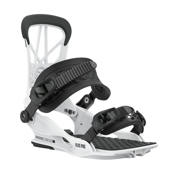 2021 Union Flite Pro Mens Snowboard Binding in White