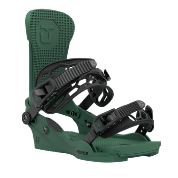 2021 Union Force Mens Snowboard Binding in Forest Green
