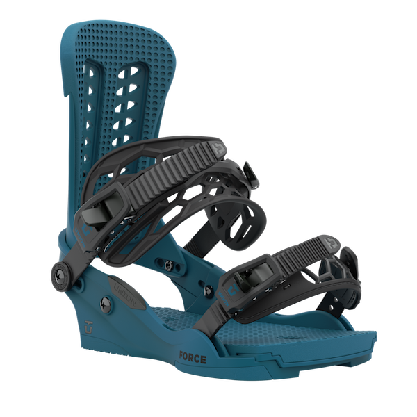 2021 Union Force Mens Snowboard Binding in Sea Blue
