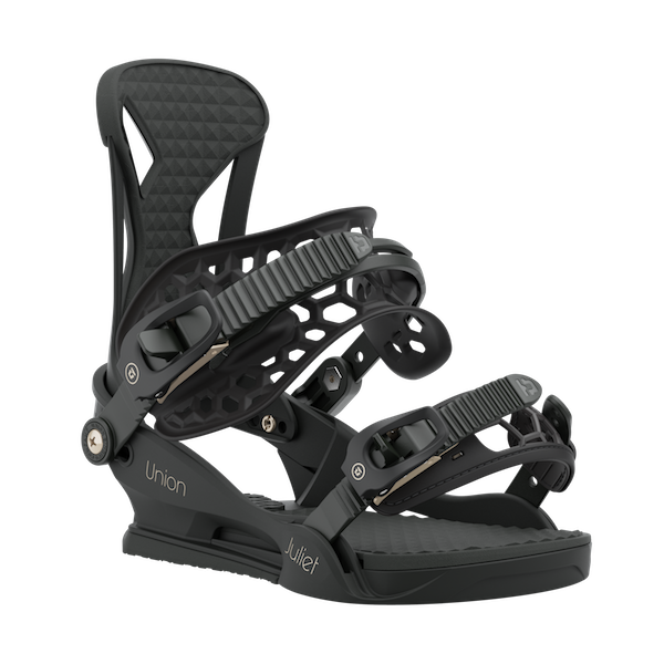 2021 Union Juliet Womens Snowboard Binding in Black