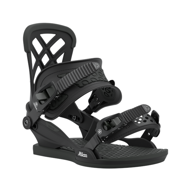 2021 Union Milan Womens Snowboard Binding in Black