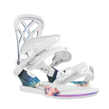 2021 Union Milan Womens Snowboard Binding in Space Dust