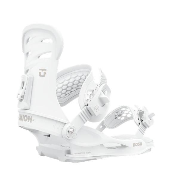 2021 Union Rosa Womens Snowboard Binding in White