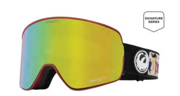 2021 Dragon NFX2 Forrest Bailey Snow Goggle with a Lumalens Gold Ion Lens and a Lumalens Yellow Bonus Lens