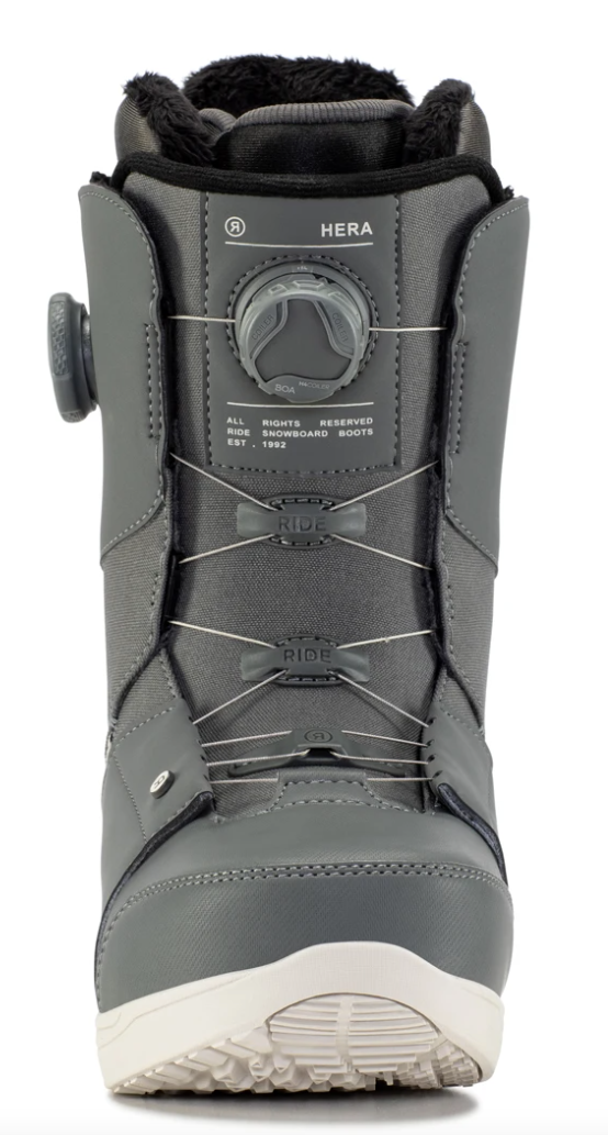 2021 Ride Hera Womens Snowboard Boot in Grey