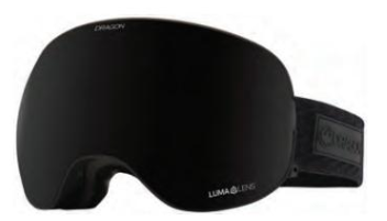 2021 Dragon X2 Midnight Snow Goggle with a Lumalens Midnight Lens and a Lumalens Violet Bonus Lens