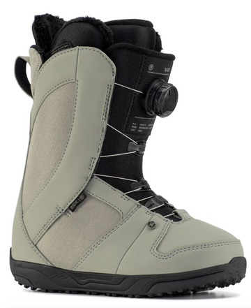 2021 Ride Sage Womens Snowboard Boot in Moss
