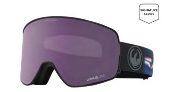 2021 Dragon NFX2 Blake Paul Signature Snow Goggle with a Lumalens Violet Lens and a Lumalens Dark Smoke Bonus Lens