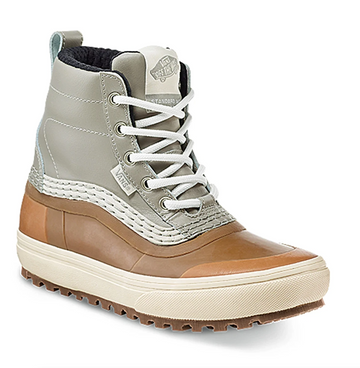 2021 Vans Standard Mid MTE Snow Boot in Gray and Gum