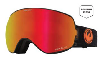 2021 Dragon X2s Gigi Snow Goggle with a Lumalens Red Ion Lens and a Lumalens Light Rose Bonus Lens