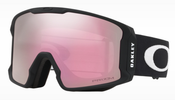 2021 Oakley Line Miner Snow Goggle in Matte White with a Prizm HI Pink Iridium Bonus Lens