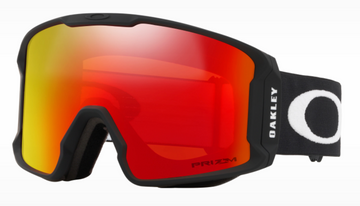 2021 Oakley Line Miner Snow Goggle in Matte Black with a Prizm Torch Iridium Bonus Lens