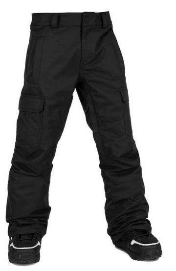 2021 Volcom Kids Cargo Insulated Pant in Black