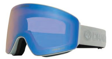 2021 Dragon PXV Salt Snow Goggle with a Lumalens Flash Blue Lens and a Lumalens Dark Smoke Bonus Lens