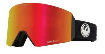 2021 Dragon RVX Split Over the Glass Snow Goggle with a Lumalens Red Ion Lens and a Lumalens Light Rose Bonus Lens