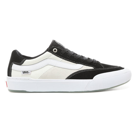 Vans Berle Pro Skate Shoe in Black, White