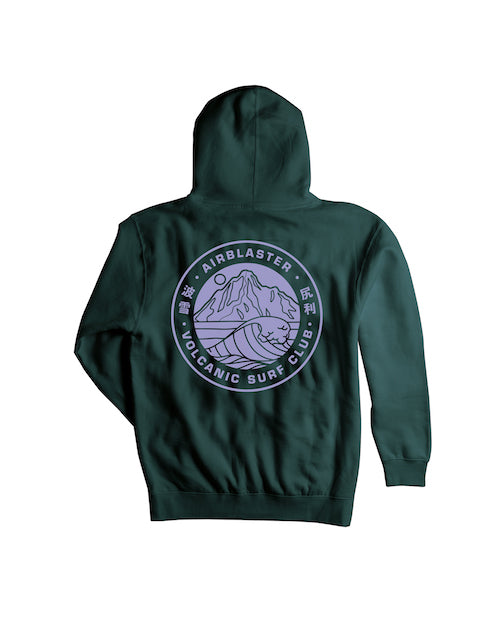 2021 Airblaster Volcanic Surf Club Pullover Hoody in Night Spruce
